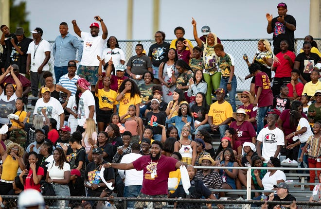 The crowd will not be as large as last year's game between Glades Central and Pahokee and the site will be different, but the Muck Bowl will go on Saturday night at Wellington High School.