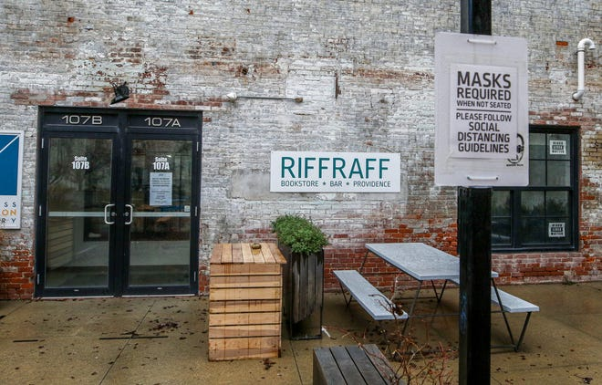 Riffraff, a full-service bar and bookstore on Valley Street in Providence, might break even this year.