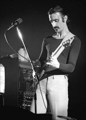 Zappa live Jan. 16, 1977, Ekeberghallen, Oslo, Norway.