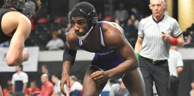 Mount Union's Jordin James was the Ohio Athletic Conference Wrestler of the Year and an All-American at 141 pounds last season. (University of Mount Union / Jill Martin)