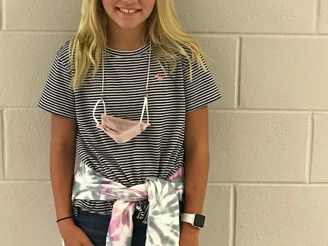 Emmy Curry of Surf City Elementary is Pender County's Student of the Week.
