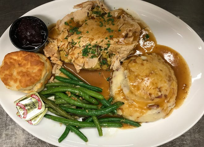 Home Plate is offering a turkey dinner with all the fixings for Thanksgiving catering this year.