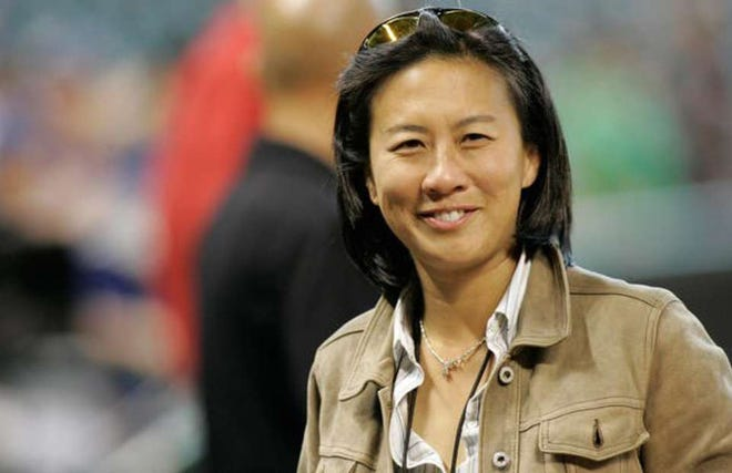 Kim Ng is the new Miami Marlins general manager.