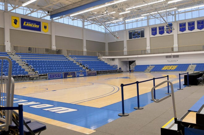 The John P. Brissette Competition Court on the campus of Worcester State University will remain empty this winter as the MASCAC canceled the winter season due to COVID-19 concerns.