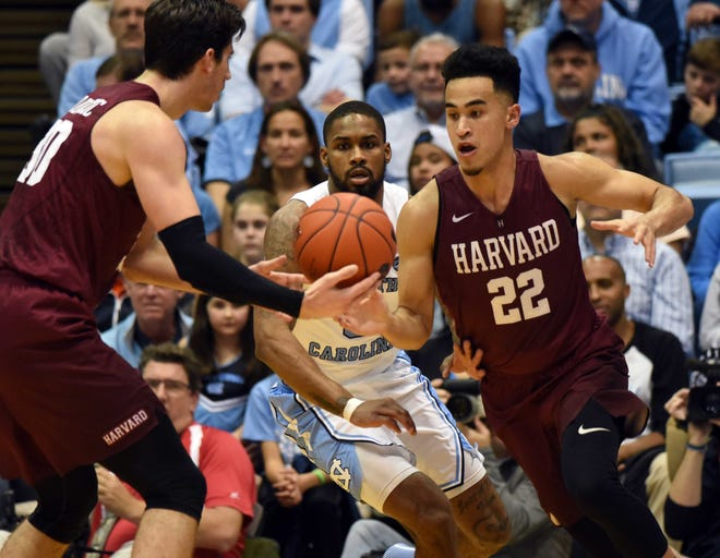 Harvard won't be playing men's basketball this season after the Ivy League became the first Division 1 conference this year to cancel winter sports.