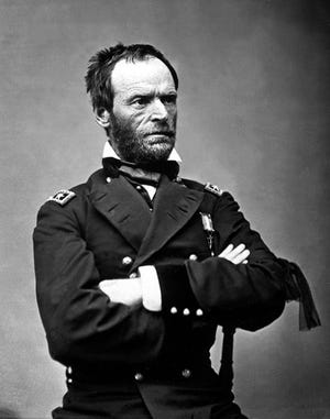 "On Nov. 15, 1864, during the Civil War, Union forces led by Maj. Gen. William Tecumseh Sherman began their ""March to the Sea"" from Atlanta; the campaign ended with the capture of Savannah on Dec. 21."