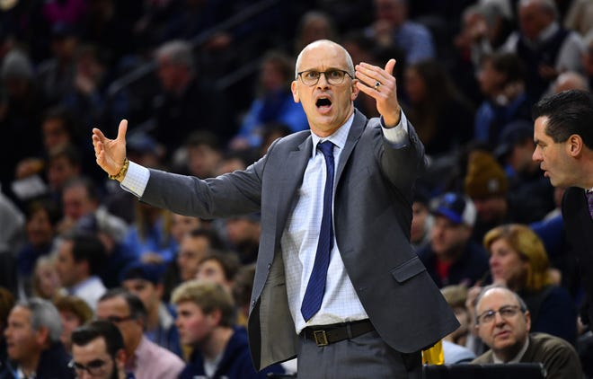 Coach Dan Hurley feels UConn basketball is at home in the Big East.