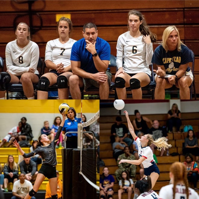 Gray's Creek, Terry Sanford and Cape Fear are favored to be the top volleyball teams in the Patriot 4-A/3-A Conference this season.