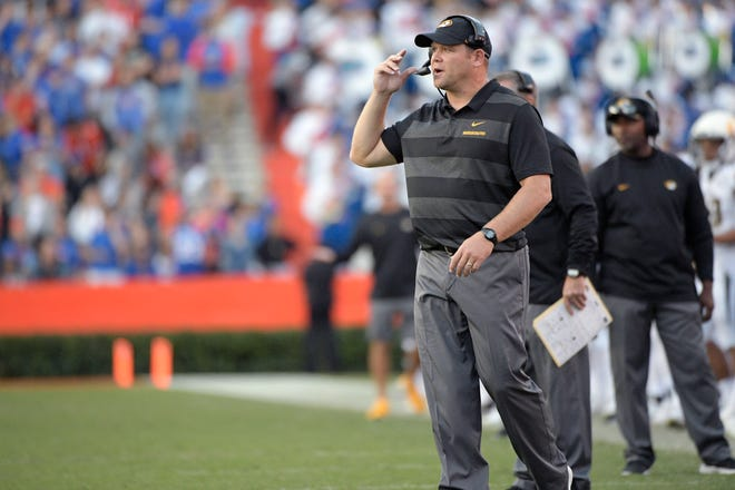Last time Arkansas defensive coordinator Barry Odom was at Ben Hill Griffin Stadium, his Missouri Tigers won 38-17. Odom will also be the interim head coach Saturday in place of head coach Sam Pittman, who tested for COVID-19 earlier this week.