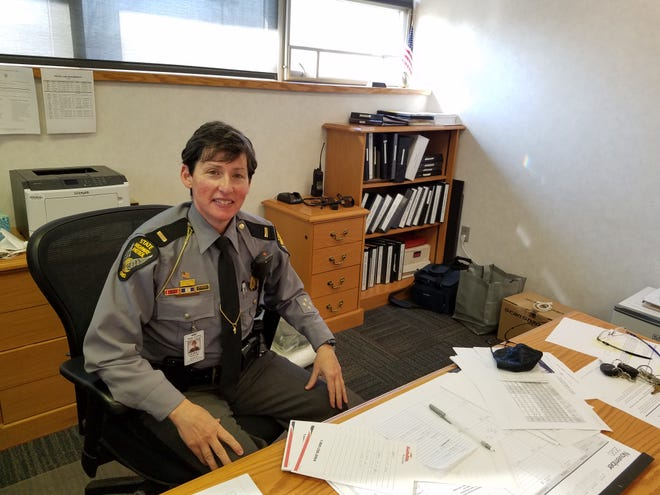 Lt. Laura C. Taylor is the new commander of the New Philadelphia Post of the Ohio State Highway Patrol.