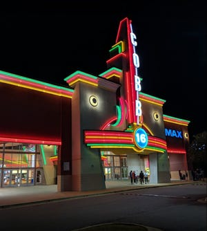 The Hollywood 16 movieplex in Tuscaloosa re-opened Friday. [Submitted photo]