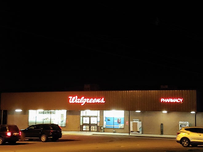 Walgreens currently operates locations in Wellsville at 110 Bolivar Road, pictured here, and 10 North Main St.