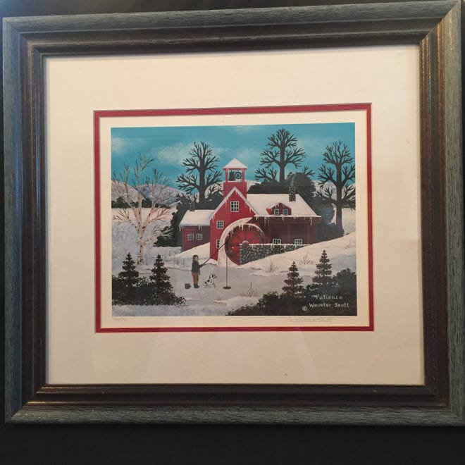 Jane Wooster Scott Signed Lithograph