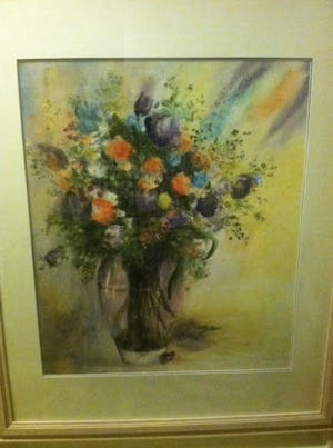 A Dorothy Appel watercolor.