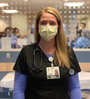 The staff at Emerson Hospital in Concord is prepared for the second surge of COVID