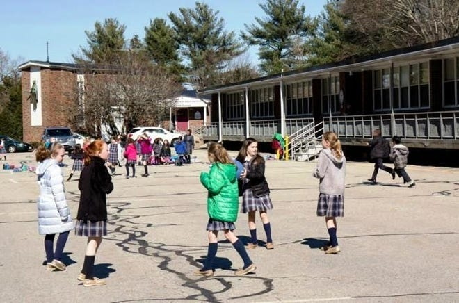 Student enrollments have increased at Sacred Heart Elementary School and Sacred Heart School since St. Jerome School closed in June.