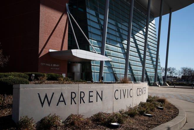 Warren City Hall in Warren on Nov. 12, 2020.