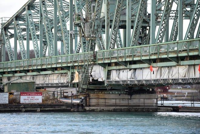 The Grosse Ile Parkway Bridge, Friday, Nov. 13, 2020.