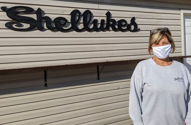 Shelley Hoppes, owner of Shelluke's Bar & Grill said St. Patrick's Day may feel like a normal day at her bar Wednesday but the biggest difference from last year to this is the bar will be open.
