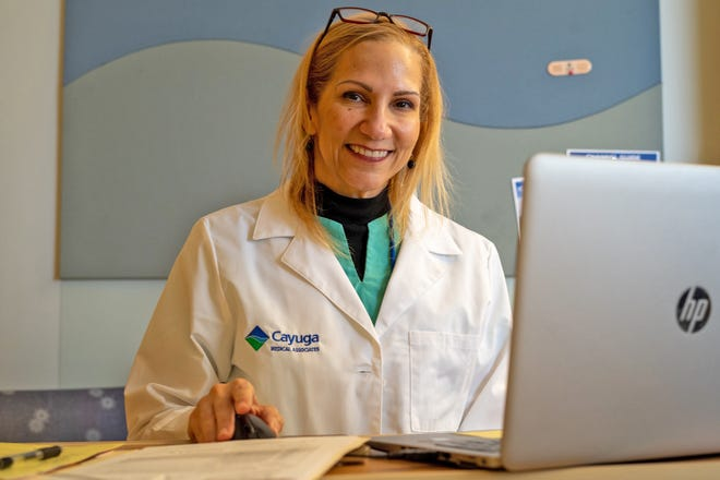 Cayuga Health System telemedicine services allow patients to stay at home and have online appointments.