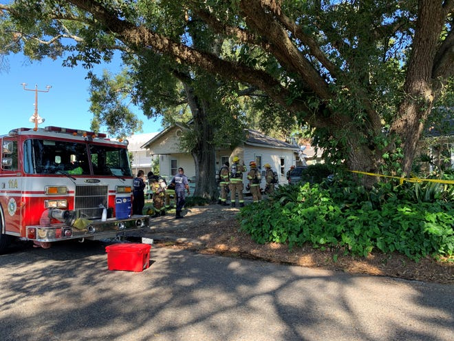 Lafayette firefighters responded to a house fire in the 300 block of Bellot Street on Friday, Nov. 13, 2020, and aninvestigation revealed the fireoriginated in the kitchen on thestovetop.