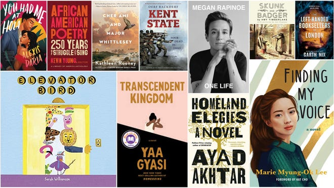 A selection of new books for holiday gift giving in 2020.