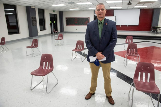 Autauga Schools Superintendent Timothy Tidmore's presentation touched on several areas where the system needs more funding. One is infrastructure. he pointed out that two schools, Prattville Primary and Prattville Kindergarten, were built in 1936 and 1937.
