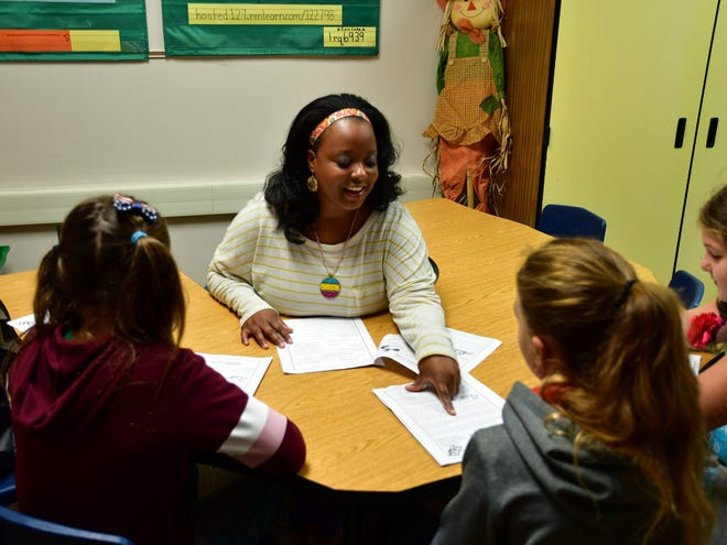 Aiesha Allen, interventionist at West View Elementary School, has completed advanced training in the Orton-Gillingham approach.