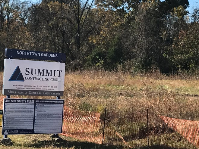 Work is underway on a new apartment complex in north Mt. Juliet that will include road improvements to Nonaville Road.