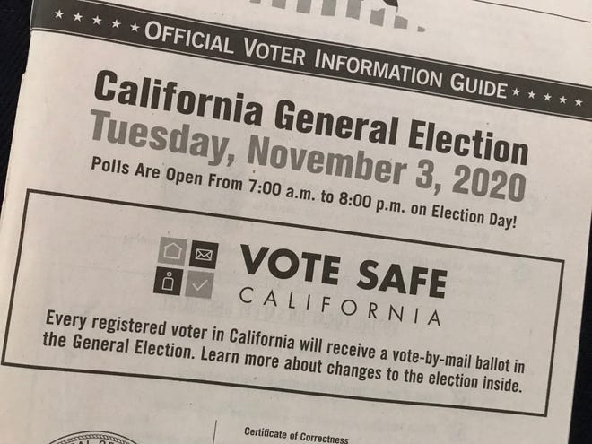 Californians were asked to decide the fates of 12 statewide initiatives on the November 3, 2020, ballot.