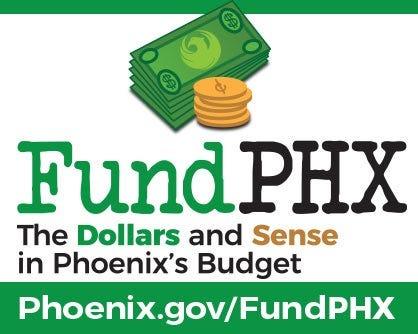 FundPHX es una nueva herramienta en línea para educar e involucrar al público en el proceso presupuestario anual de la ciudad de Phoenix.