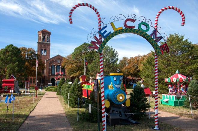 The MSU-Burns Fantasy of Lights will be Nov. 23 through Dec. 26, located on the front lawn of the Hardin Administration Building at Midwestern State University. Face coverings are required for visitors and other health safety measures will be in place.