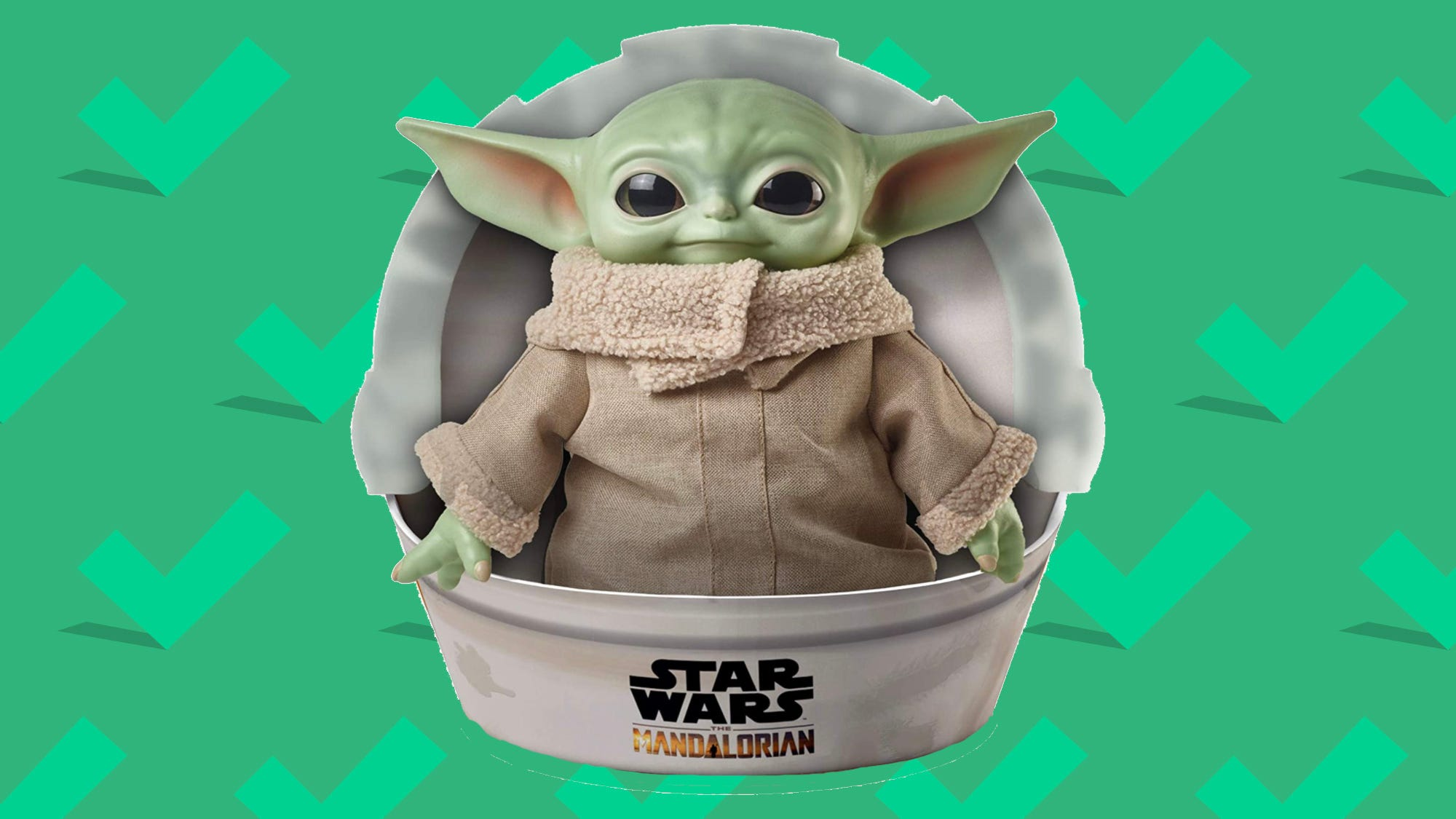 This Baby Yoda plush doll is one of the hottest toys of 2020—and it's at a big discount