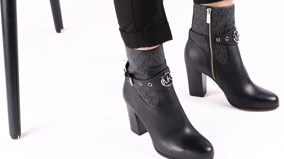 Michael Kors' stylish booties are the perfect fall accessory.