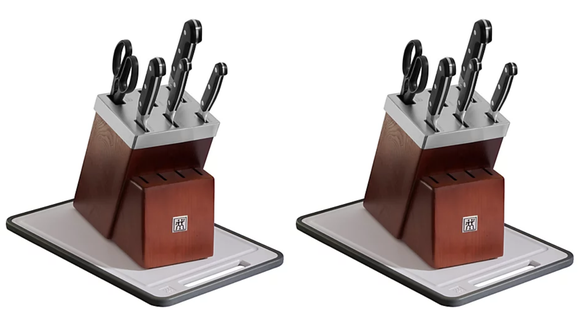 A high-quality knife set for a low-stress cost.