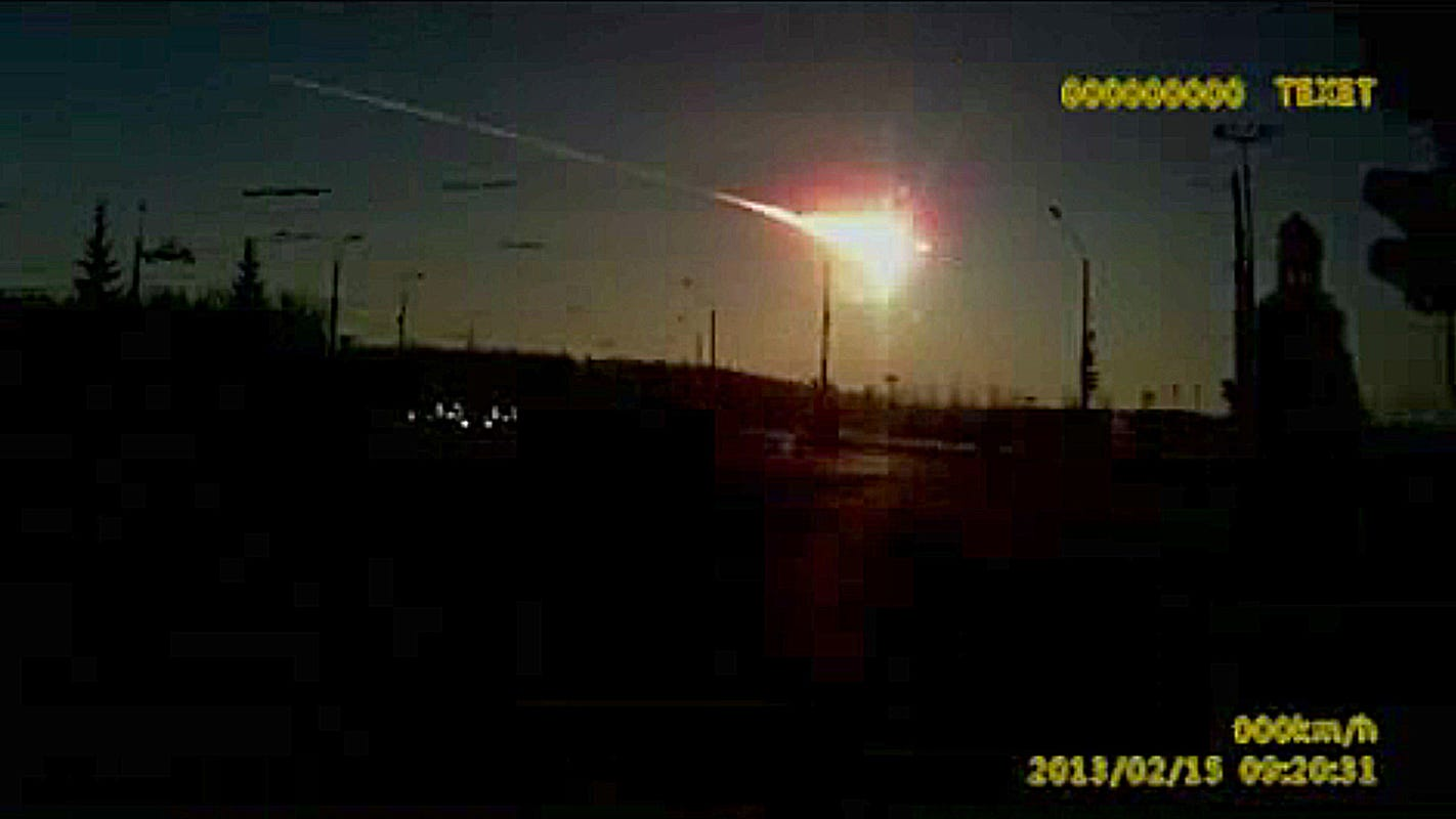 'Fireball' shows the awesome power of meteors, asteroids hitting Earth: Top 5 deep impact moments