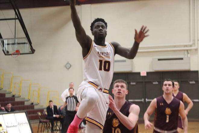 Ibu Jassey Demba and the Minnesota Crookston men's basketball team will open its 14-game season on Jan. 2 at Concordia-St. Paul.