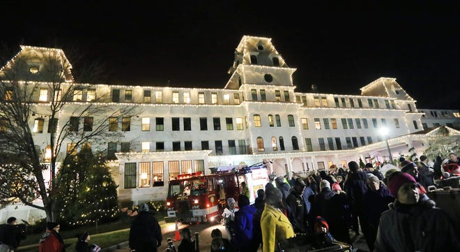 The Wentworth by the Sea hotel's annual Illumination in seen in December 2016. The illumination and toy drive will be held this year on Dec. 1 with COVID-19 safety restrictions.