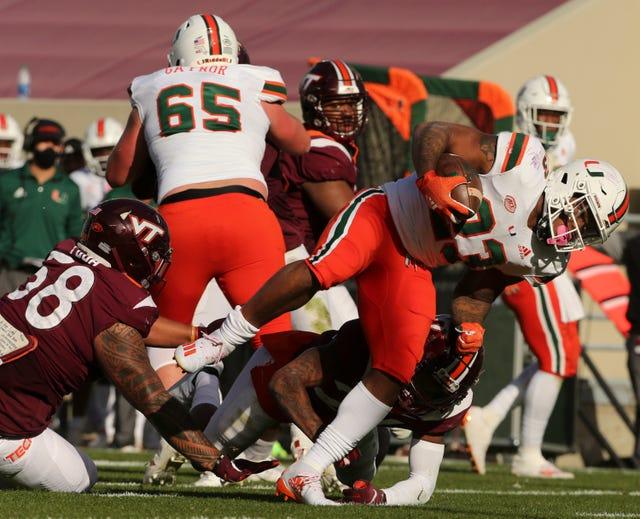 Photos No 9 Miami Hurricanes Vs Virginia Tech Hokies