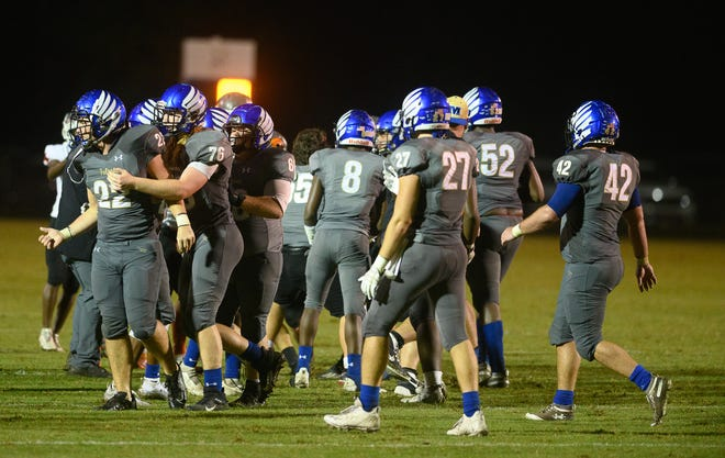 The Menendez High School football team has had to cancel its playoff game at Dunnellon, forfeiting its playoff spot, because of COVID-19 issues.