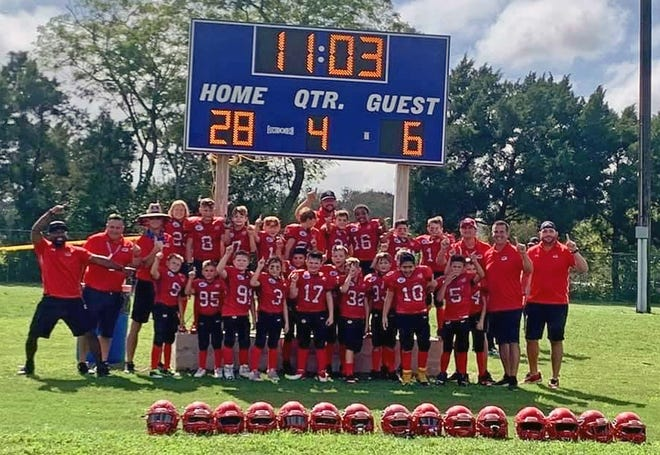 The Sarasota Sun Devils Mitey Mites won their regional game 28-6 over the Westchase Colts on Saturday in Fort Myers and now will play Nov. 28 in Orlando.