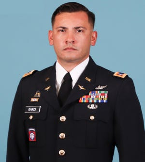 Chief Warrant Officer 3 Dallas G. Garza, 34, of Fayetteville, died when a UH-60 Black Hawk helicopter crashed in Sinai, Egypt, on Thursday. [Contributed photo]