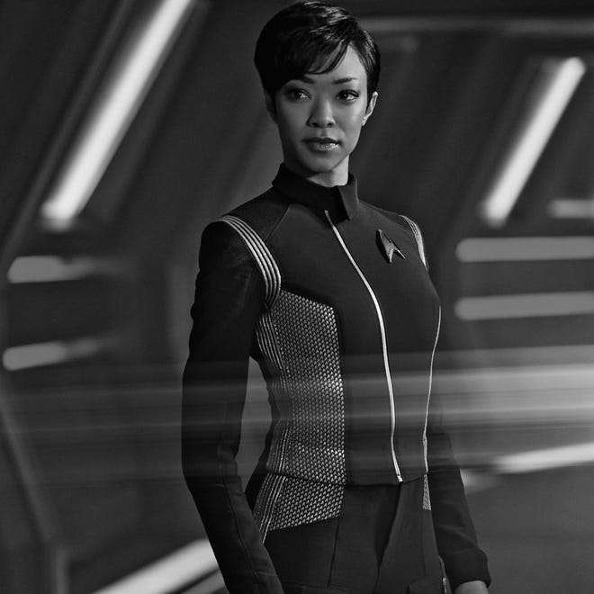 "Sonequa Martin-Green, who stars in ""Star Trek: Discovery,"" graudated from the University of Alabama in 2007."