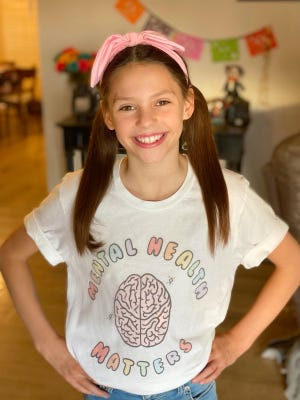 California Junior Pre-Teen Queen Stella Chavez,10, will compete this month in the National American Miss Pageant in Florida.