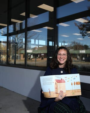 Wendy Gardner-Breindel is the new children's librarian at the Ventress Memorial Library in Marshfield. She started two weeks ago and was a pre-school teacher before coming to the Ventress.