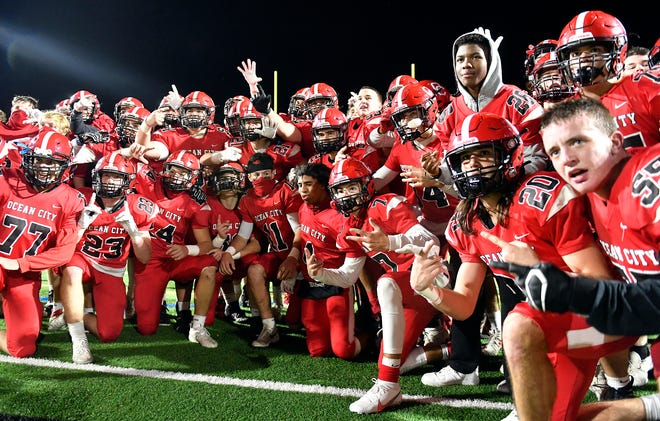 Ocean City defeated visiting St. Joseph Academy on Friday night in a WJFL Pod B matchup. The Raiders topped the Wildcats 12-7 on Nov. 13, 2020.