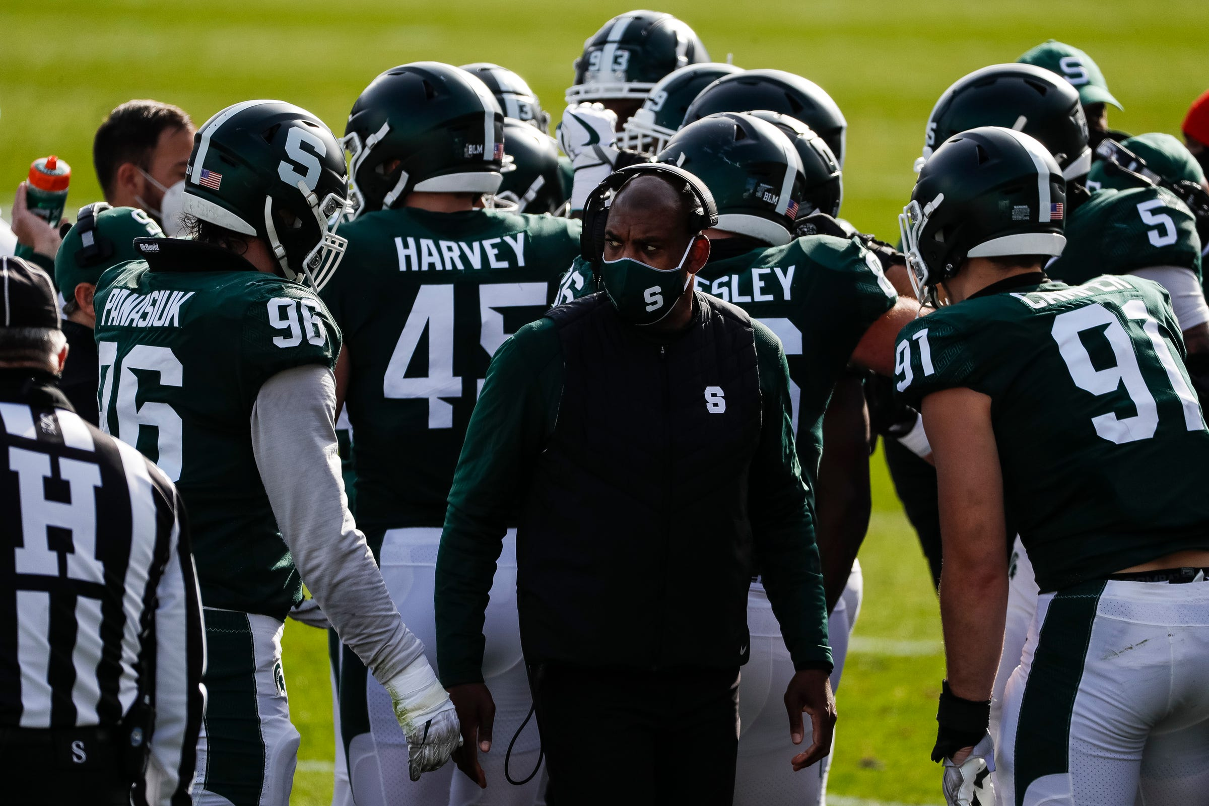 Michigan State Football S Promised Roster Re Do By Mel Tucker Begins