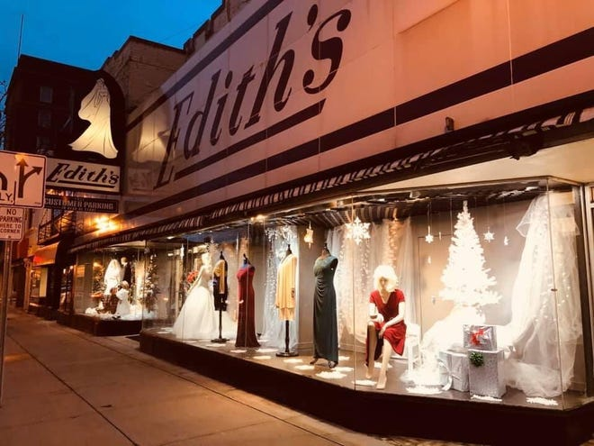 Edith's Bridal is located at 9 S. Main St., where it has sat for 83 years, since it opened.