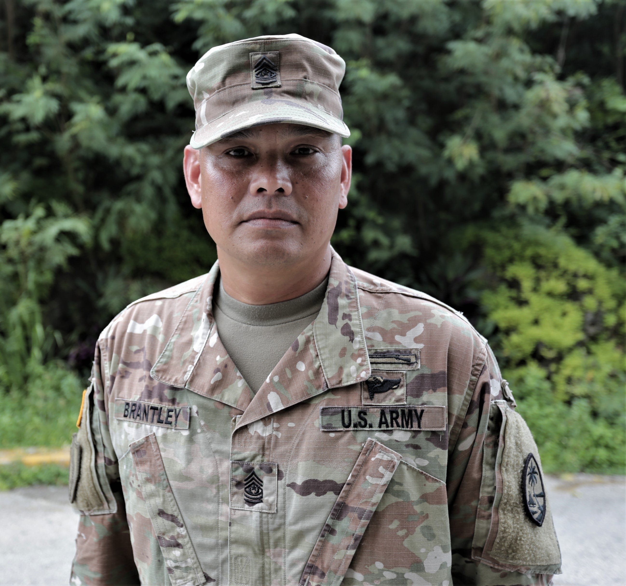 Command Sgt. Maj. Ron Brantley of the Guam National Guard has been accepted to the exclusive U.S. Army Sergeants Major Academy Fellowship program.