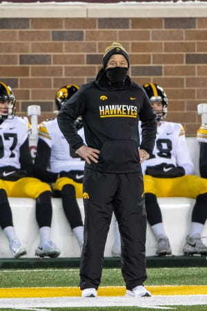 Kirk Ferentz is in his 22nd year at Iowa.